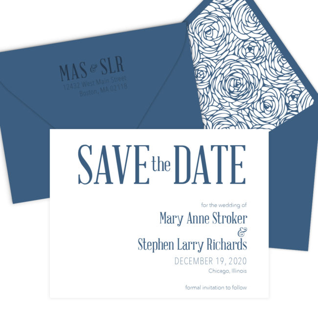 Navy Save the Date