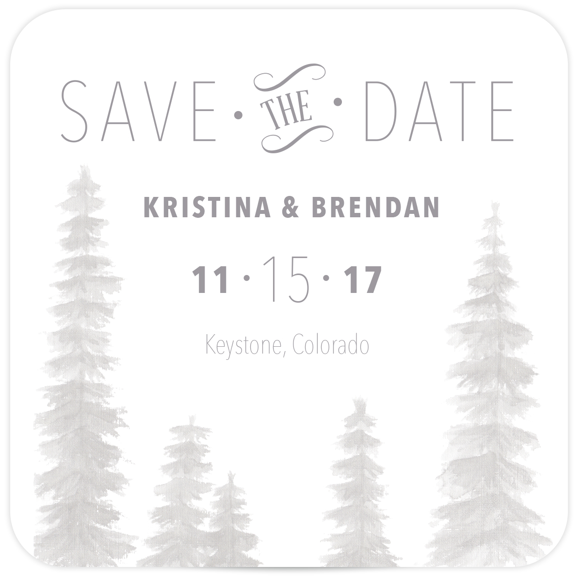 coaster save the dates