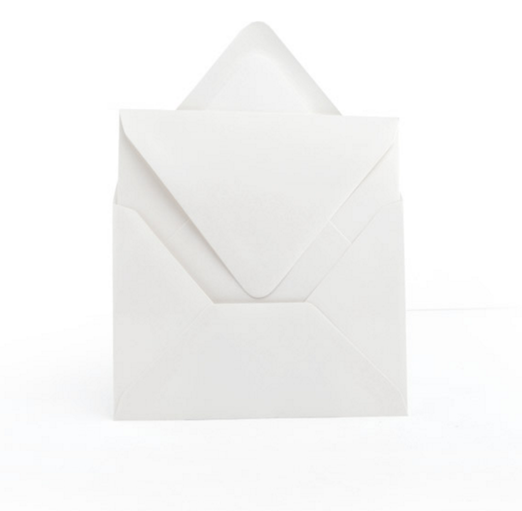 Inner and Outer Wedding Envelopes