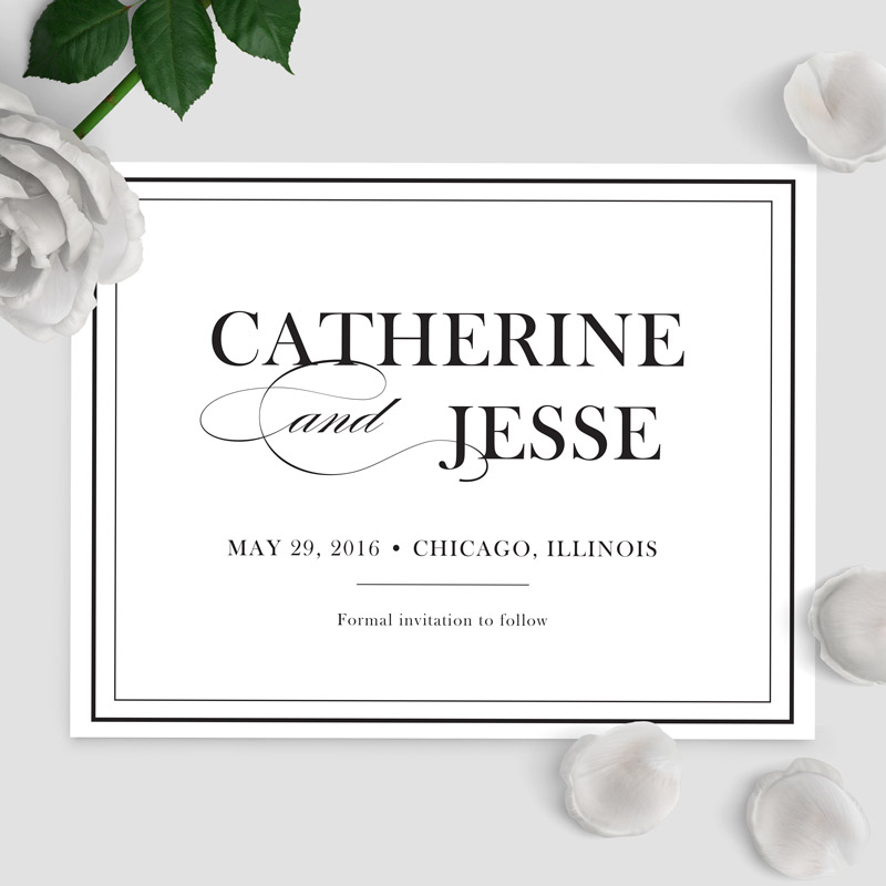 Catherine Ball Save the Date