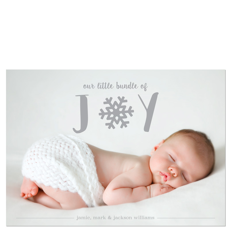 Bundle of Joy Holiday Card