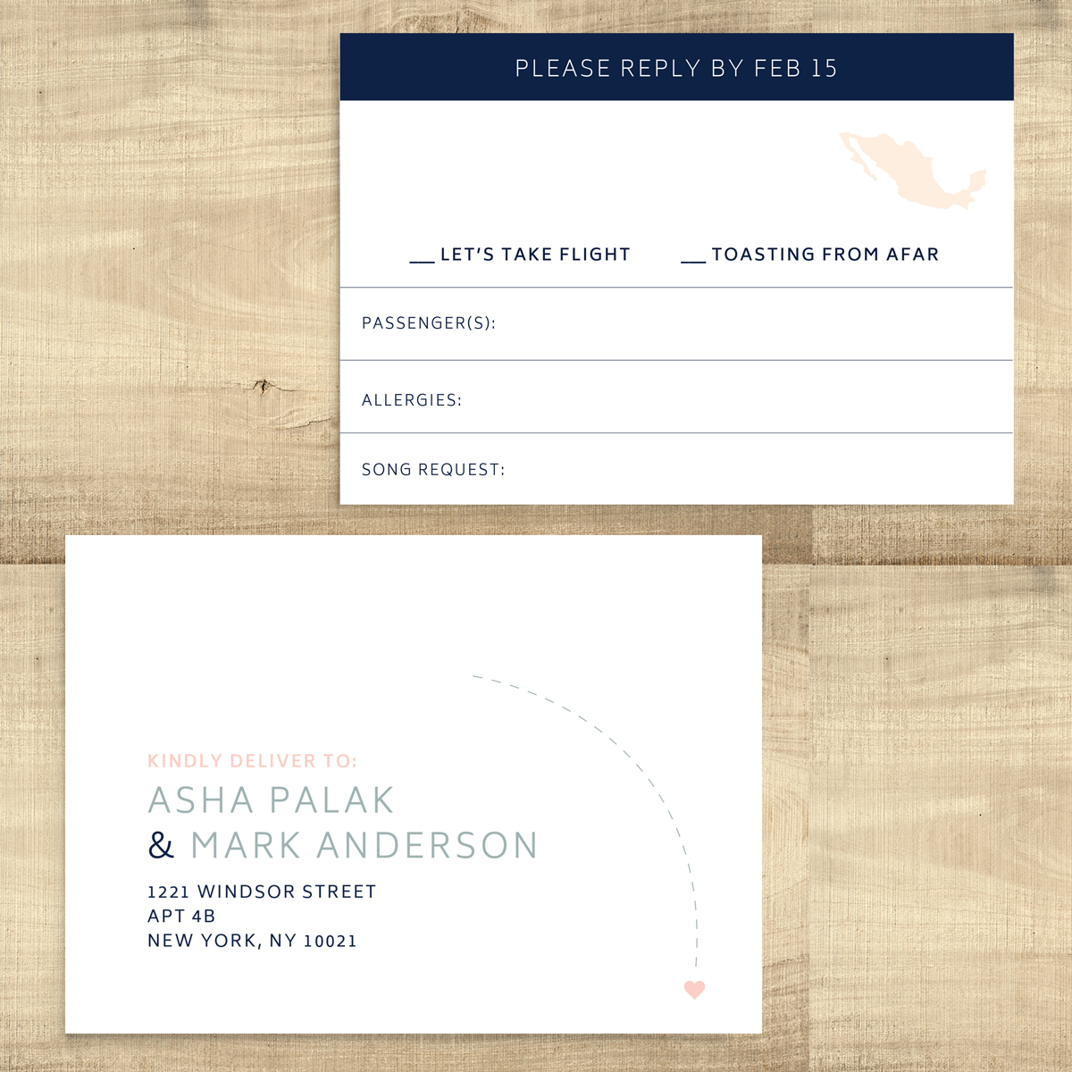 Let\'s Take Flight - Boarding Pass Destination Wedding Invitation ...