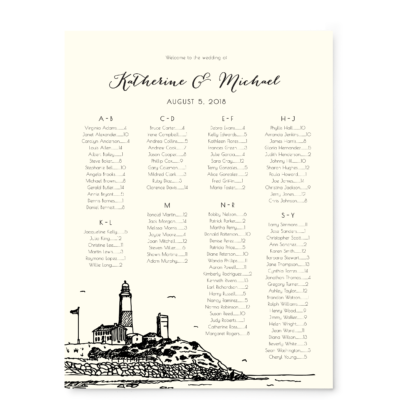 Montauk Skyline Seating Chart