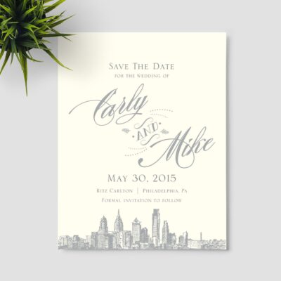 Kana Skyline Save the Date